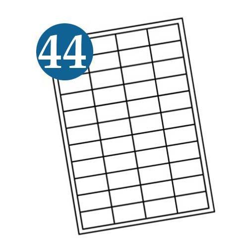 44 up A4 Labels