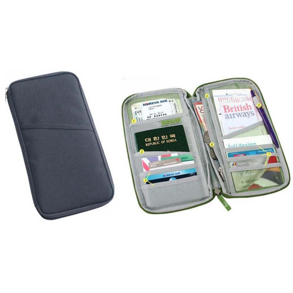 c4c2b9b74af8 Q4Travel Strong Waterproof Travel Document Wallet and Passport Holder.  Choice of Colors